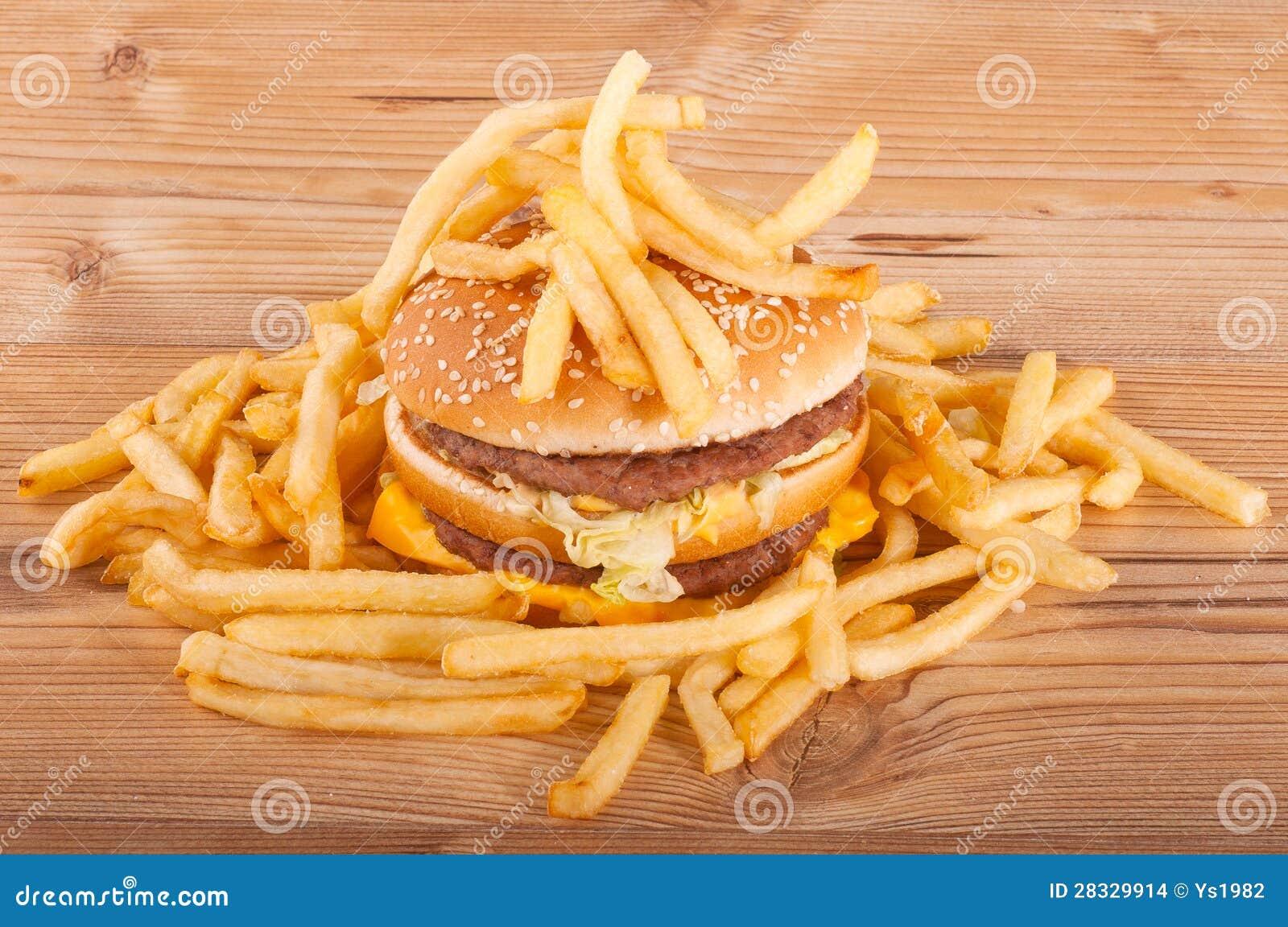hamburger and fries wallpaper - photo #31