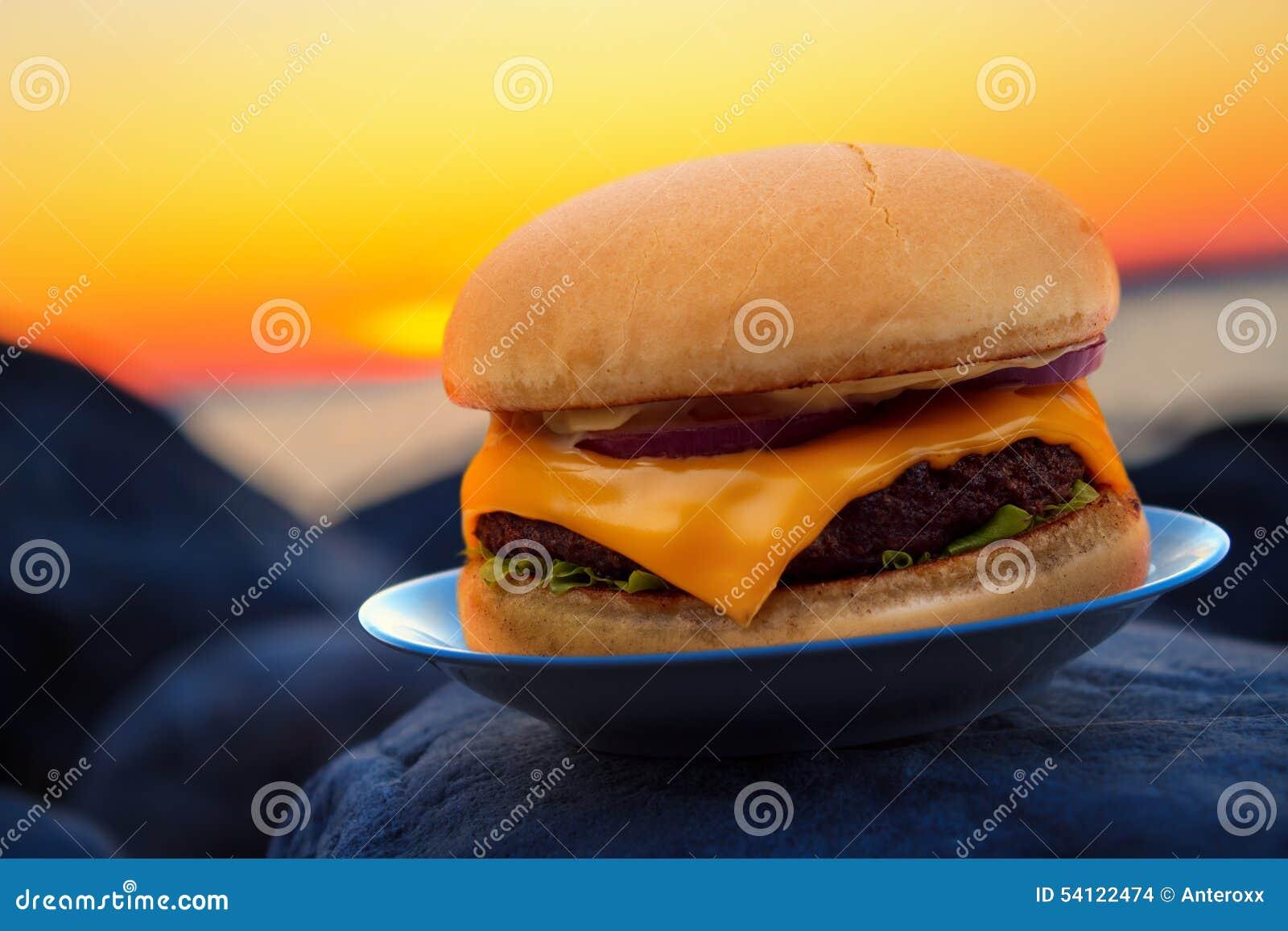 Hamburger i zmierzch
