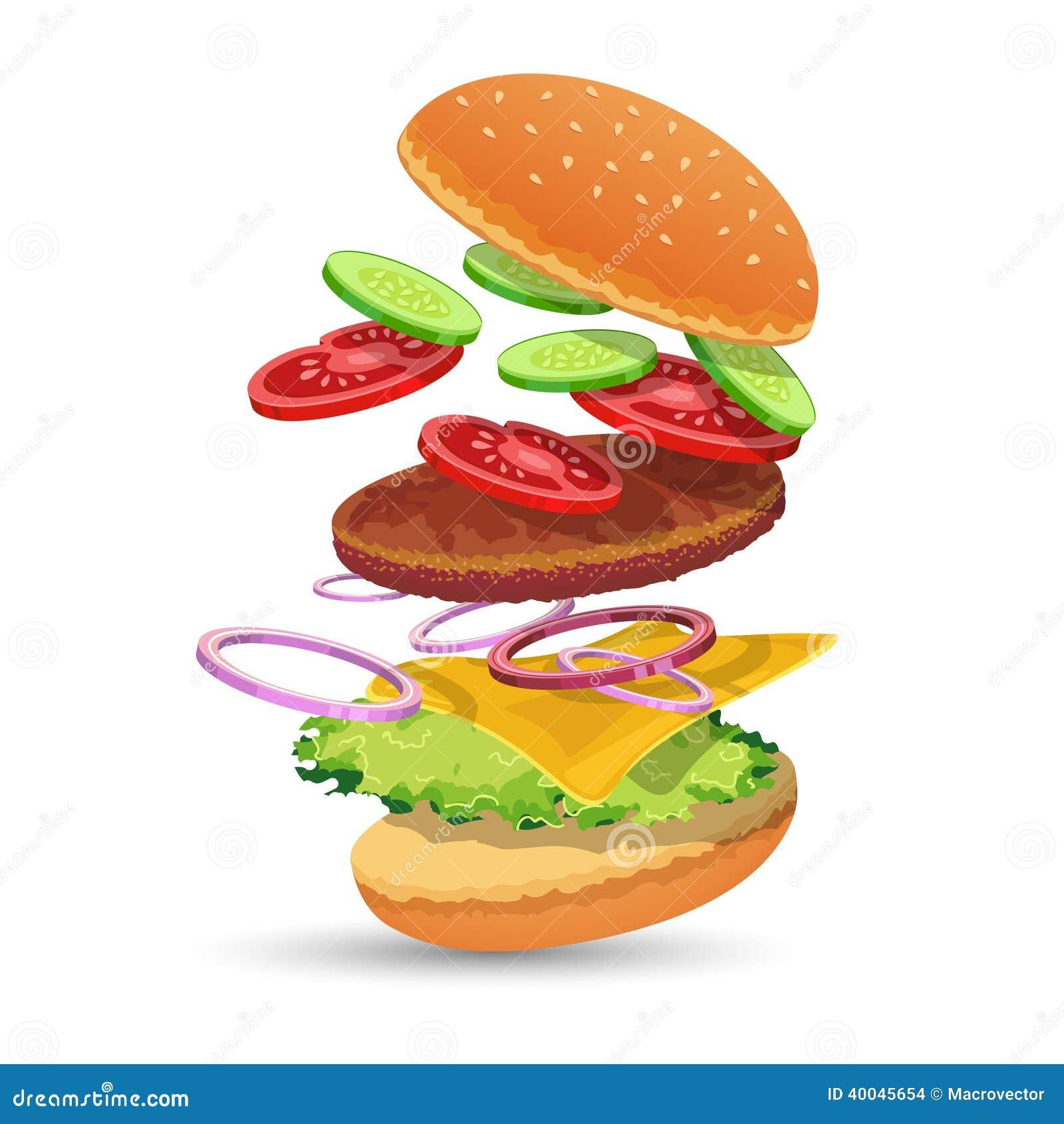 Fast Food Beef Ingredients