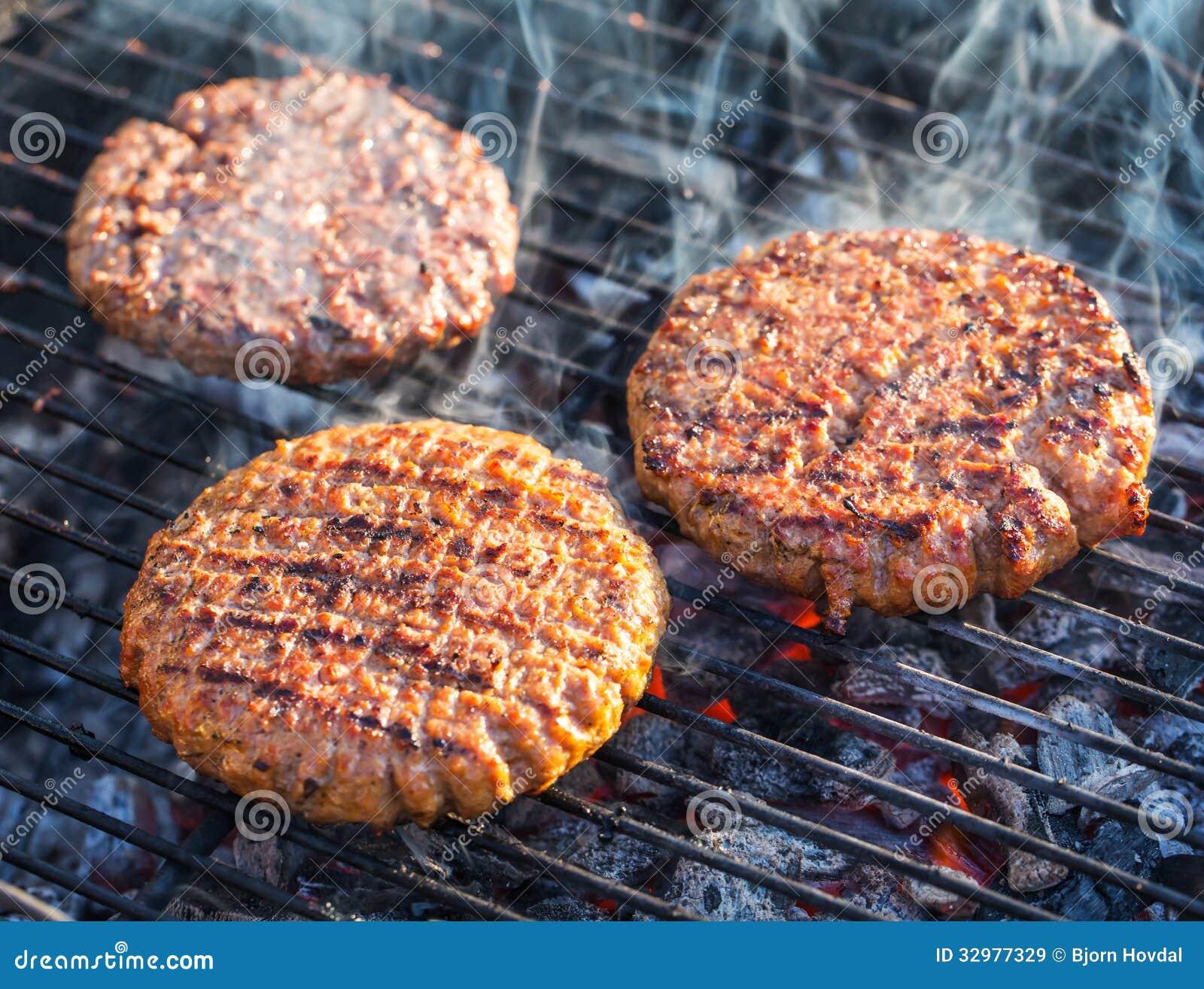Hamburger na grade