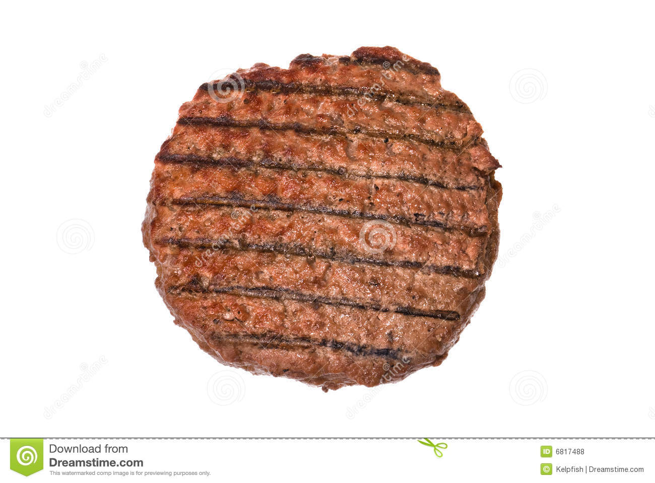Hamburger pattyGrilled Hamburger Patty