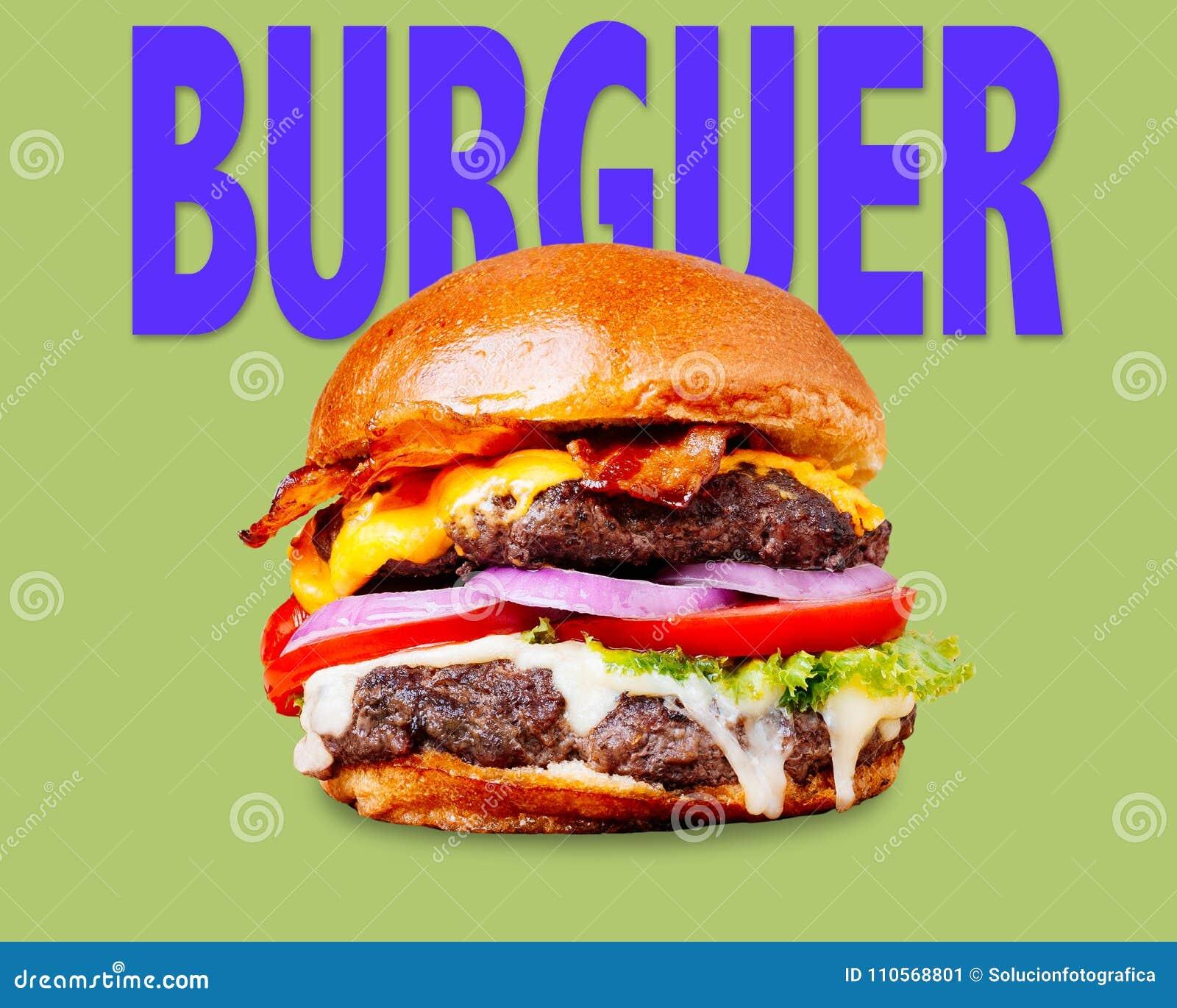 Hamburger Sign Stock Image Image Of Hamburger Beef 110568801