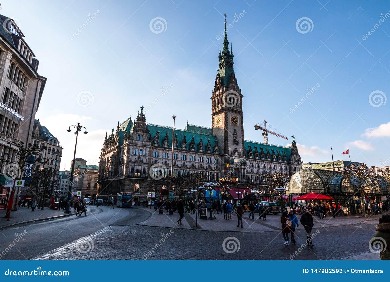 HamburgRathaus, Deutschland