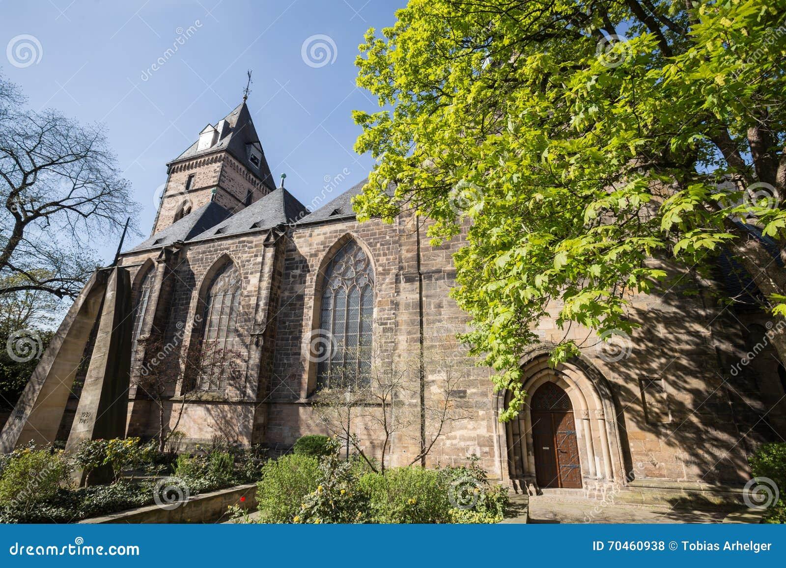 Hameln Germania della chiesa di bonfiatius della st