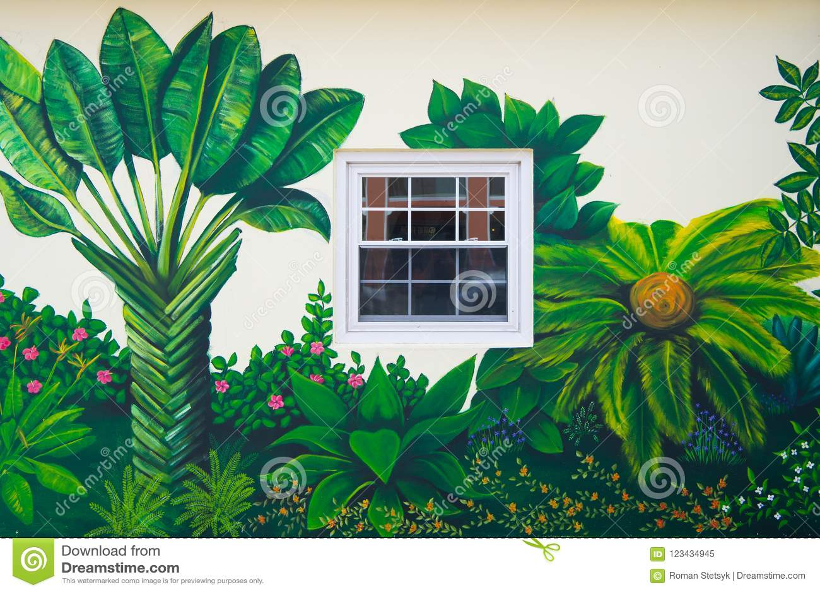 Hamilton Bermudes Mars 20 2016 Art De Rue De La