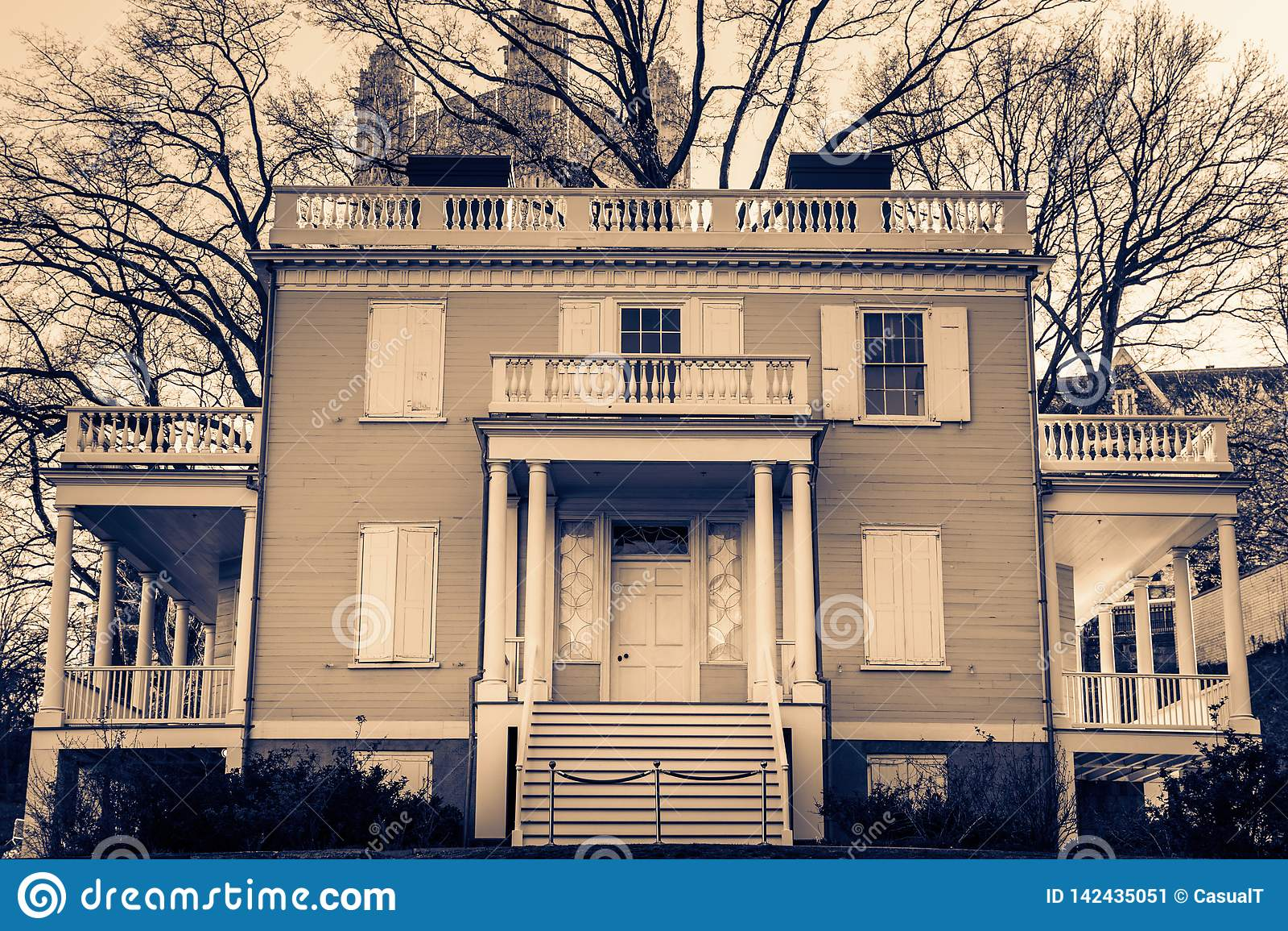 Hamilton Grange alla st Nicholas Park in Harlem, Manhattan, New York, NY, U.S.A.