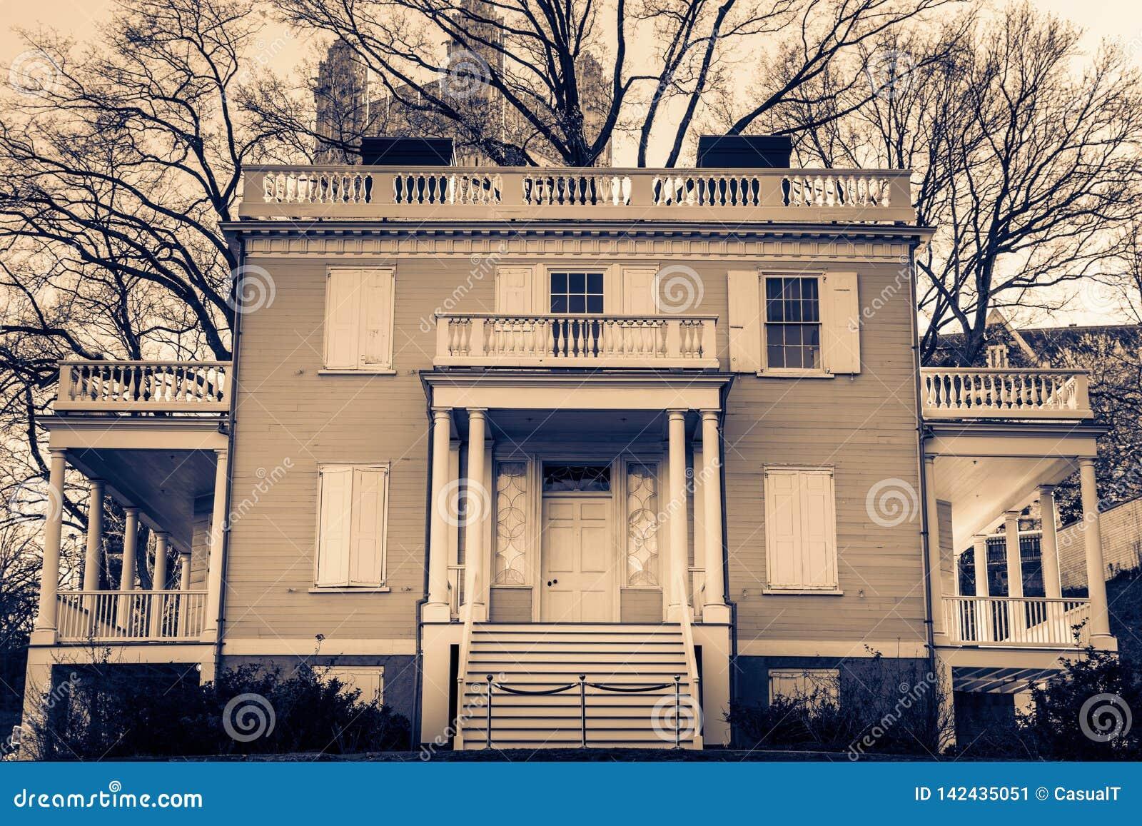 Hamilton Grange bij St Nicholas Park in Harlem, de Stad van Manhattan, New York, NY, de V.S.