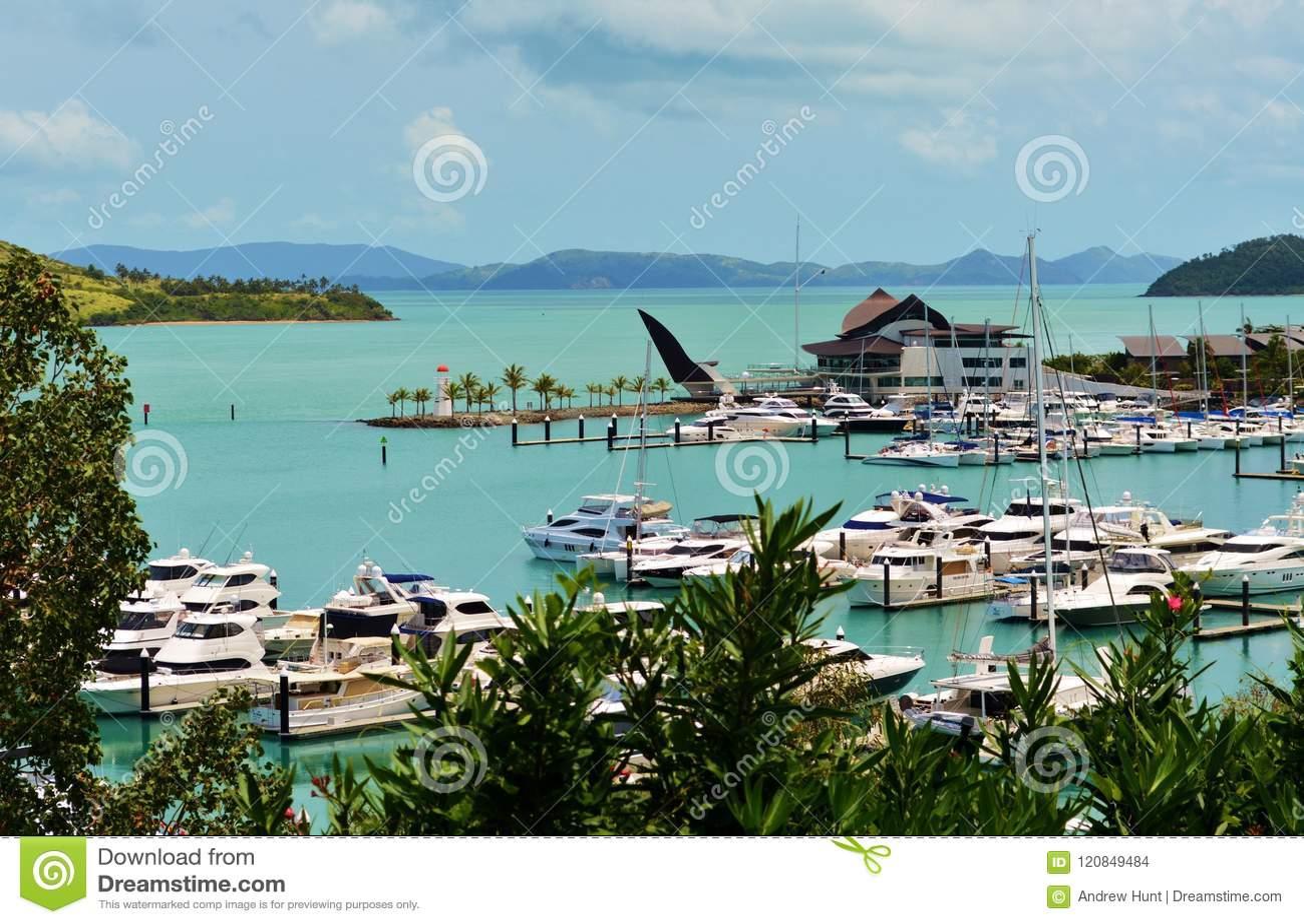 Hamilton Island Marina, QLD, Australië