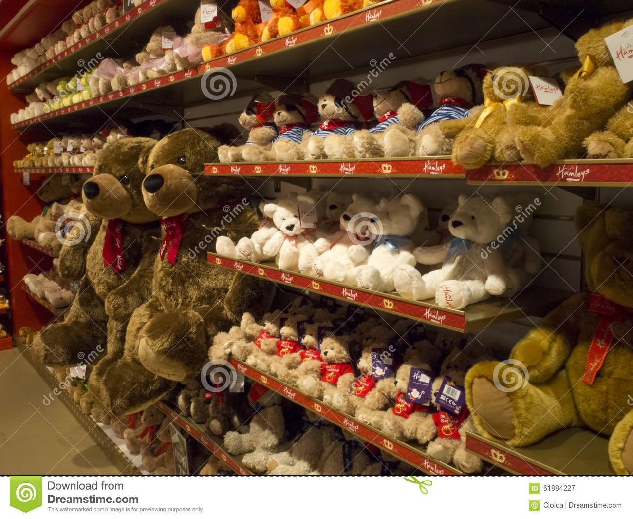 Toys From Hamleys : Hamleys toy store copenhagen editorial photography