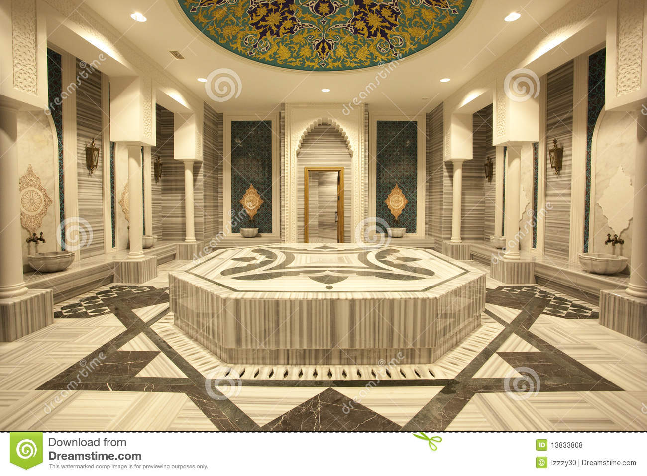 hammam turc traditionnel photo stock image du treatment 13833808. Black Bedroom Furniture Sets. Home Design Ideas