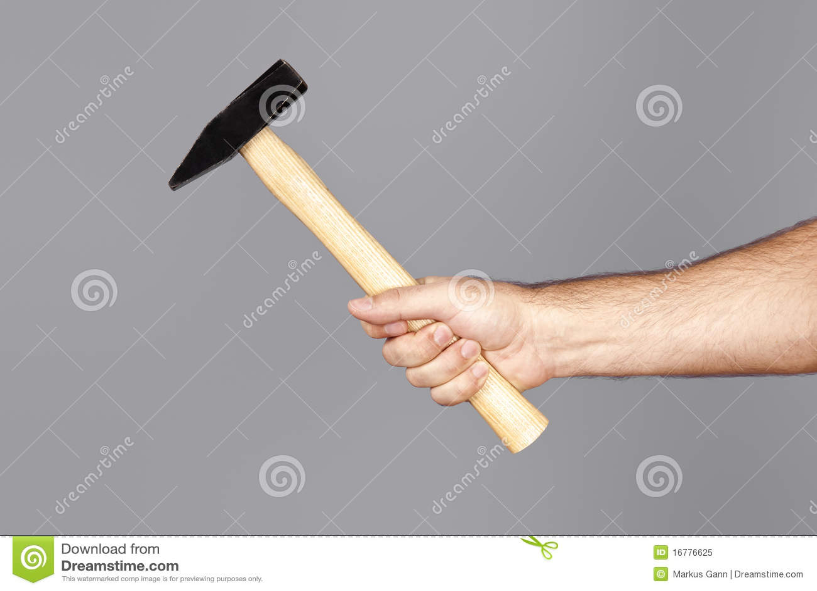 hammer stockbild bild von mann ausr stung erbauer 16776625. Black Bedroom Furniture Sets. Home Design Ideas