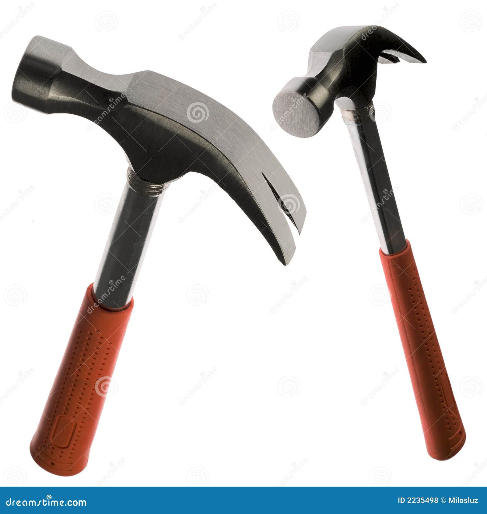 hammer stockfoto bild von metall zwei hilfsmittel reparatur 2235498. Black Bedroom Furniture Sets. Home Design Ideas