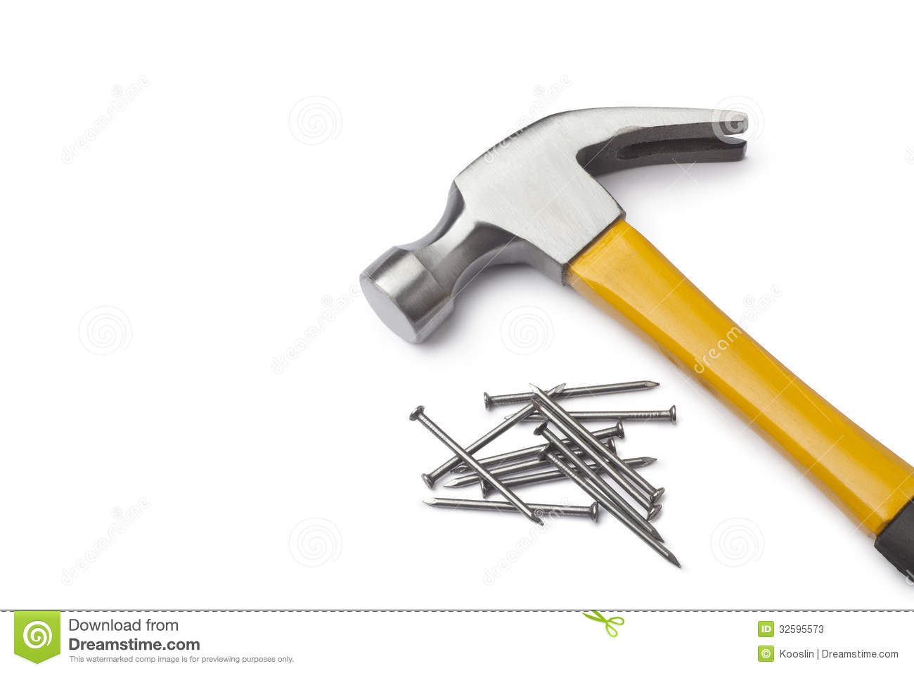Hammer And Nails Stock Photos - Image: 32595573