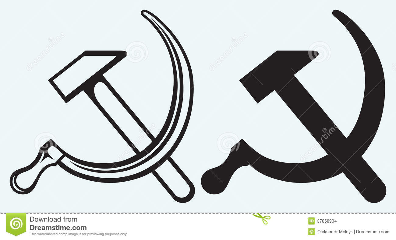 Hammer And Sickle Stock Vector Illustration Of Memory 37858904