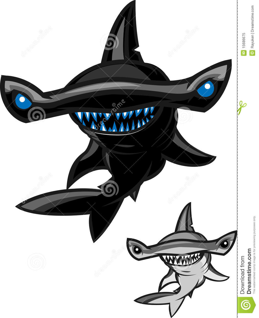 Hammerhead Shark Royalty Free Stock Photo - Image: 15686675