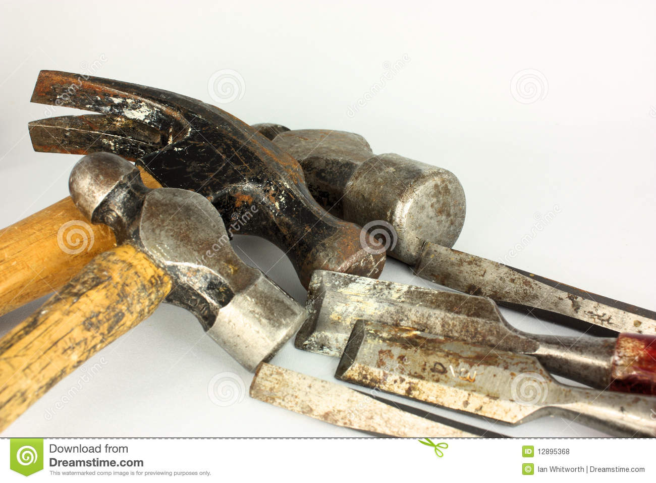 Hammers & Chisels Royalty Free Stock Photos - Image: 12895368