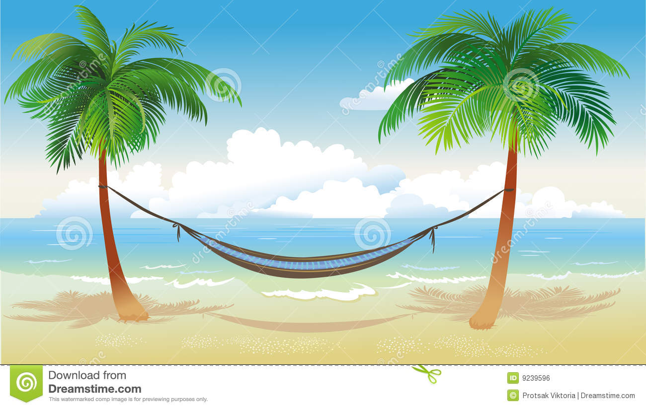 hammock stock illustrations – 2,422 hammock stock illustrations