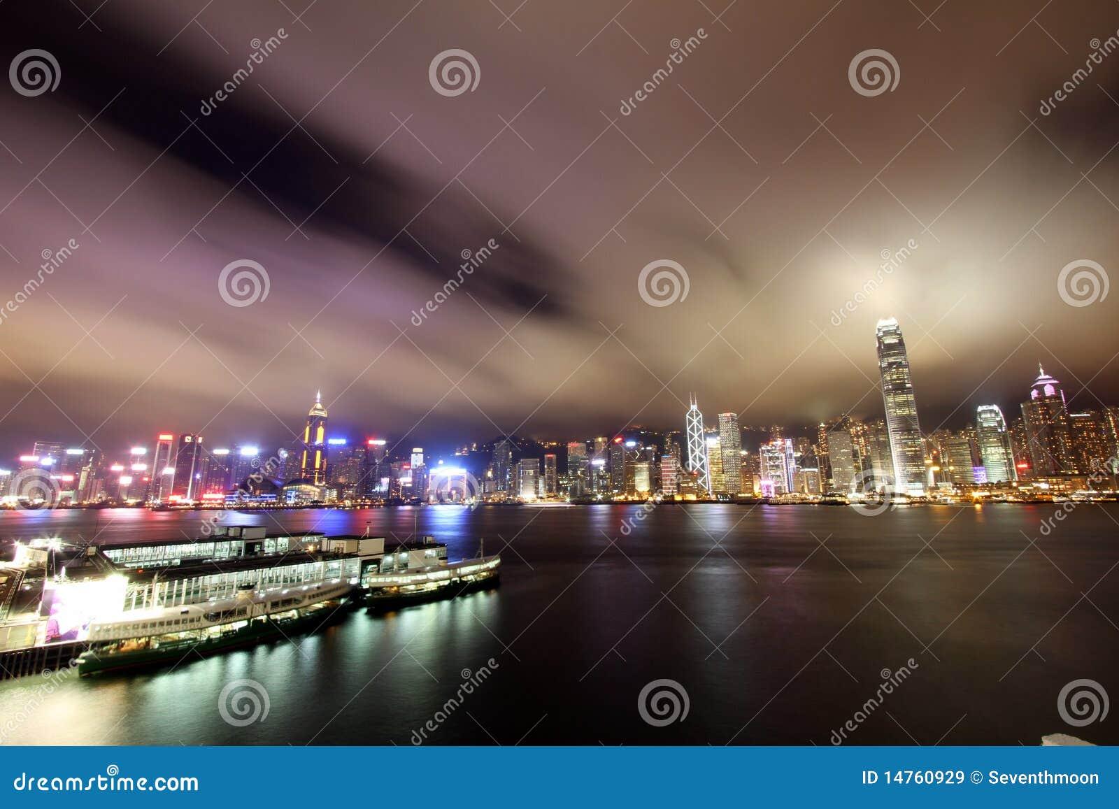 Hamn Hong Kong victoria