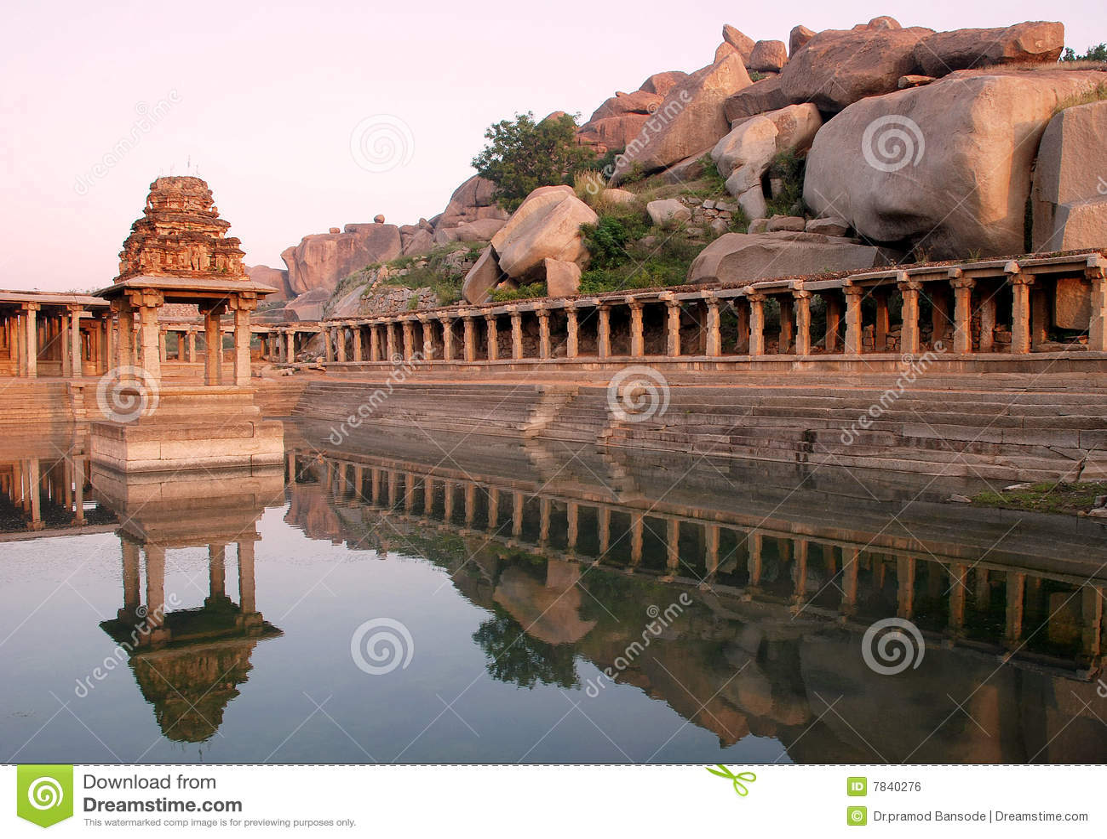 Download Hampi stock photo. Image of water, tungabhadra, krishnadev - 7840276