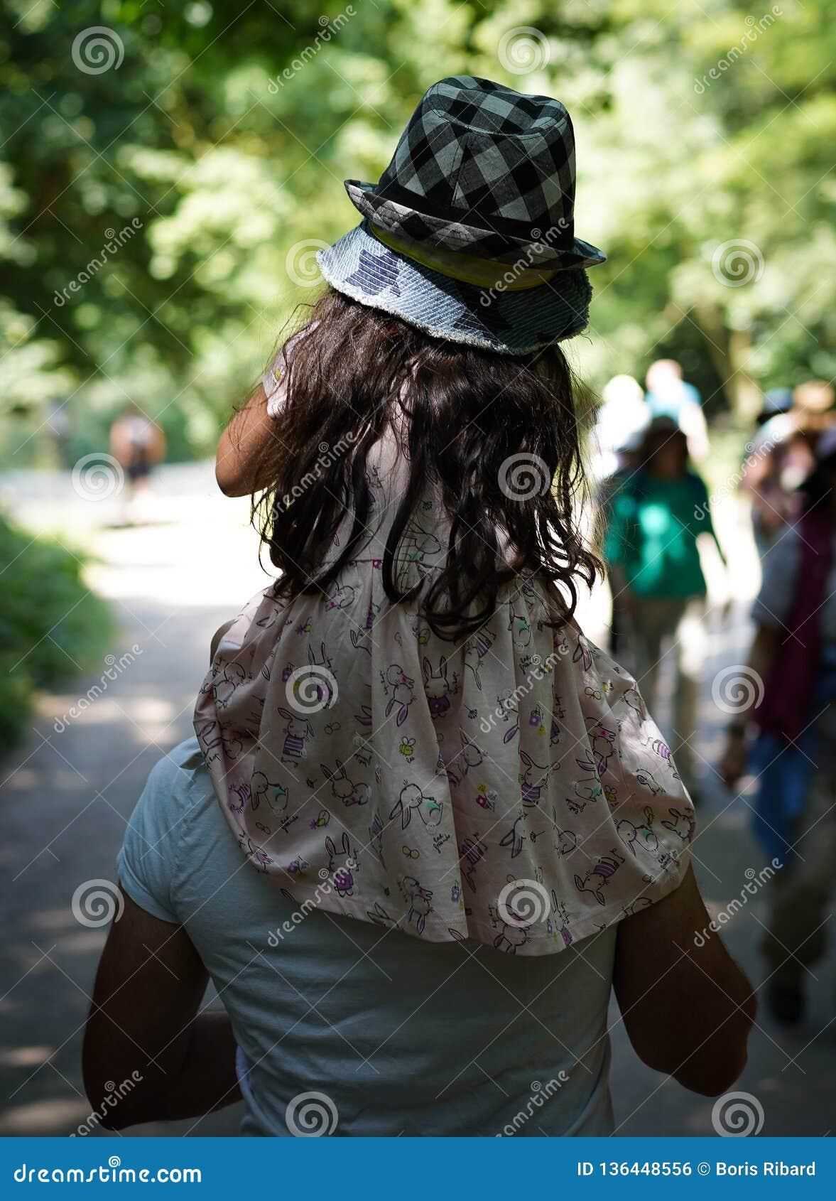 Hampstead Heath Park Girl