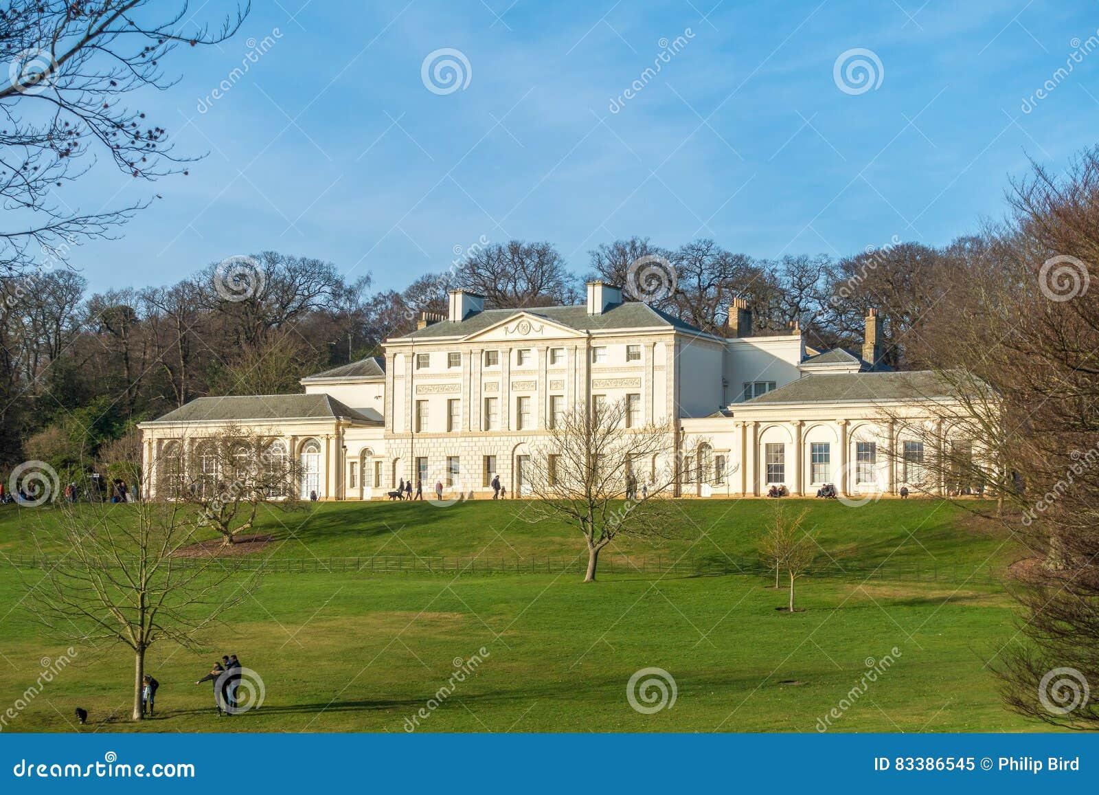 HAMPSTEAD, LONDON/UK - 27. DEZEMBER: Ansicht von Kenwood-Haus an H