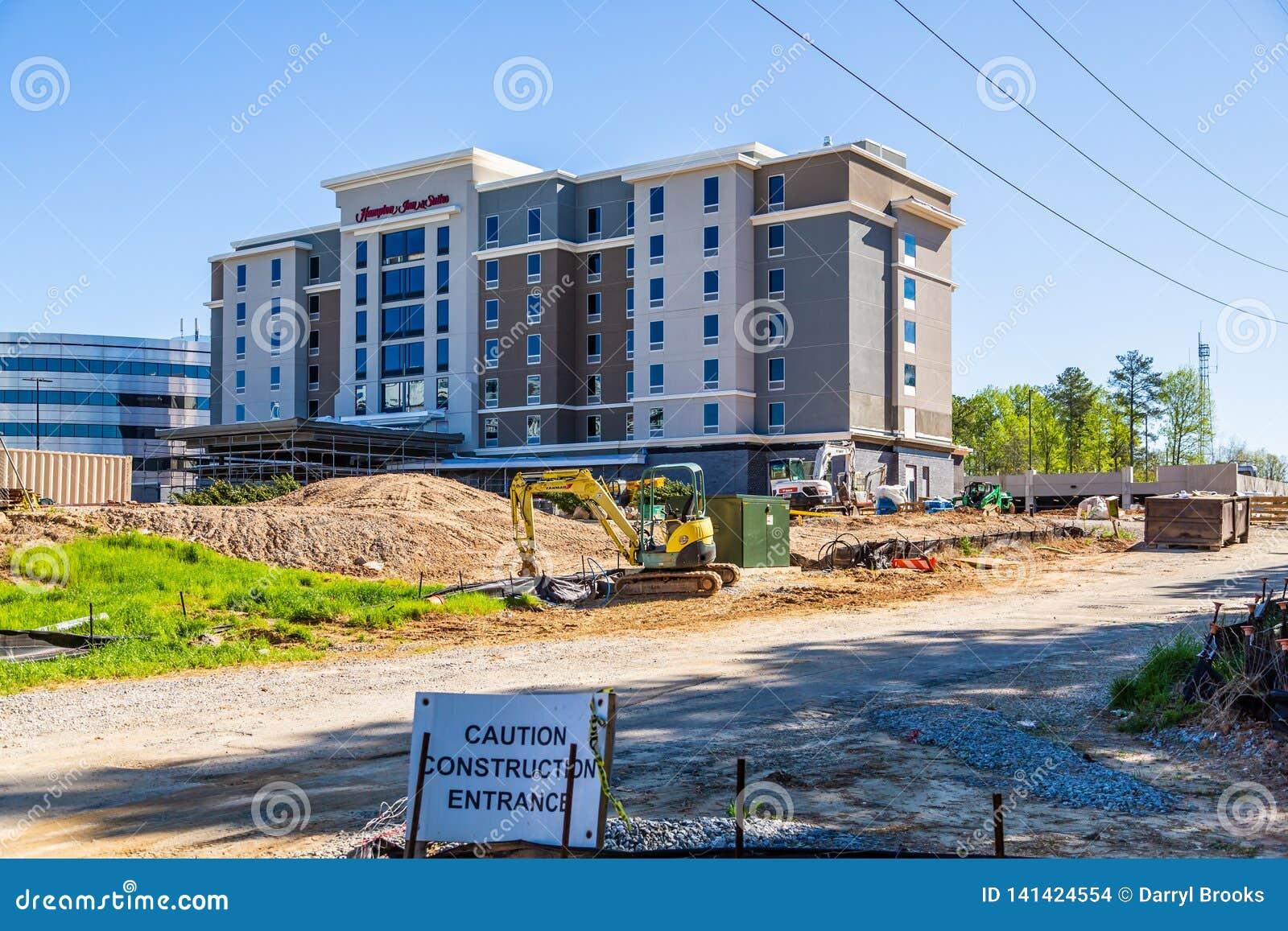 Hampton Inn Under Construction