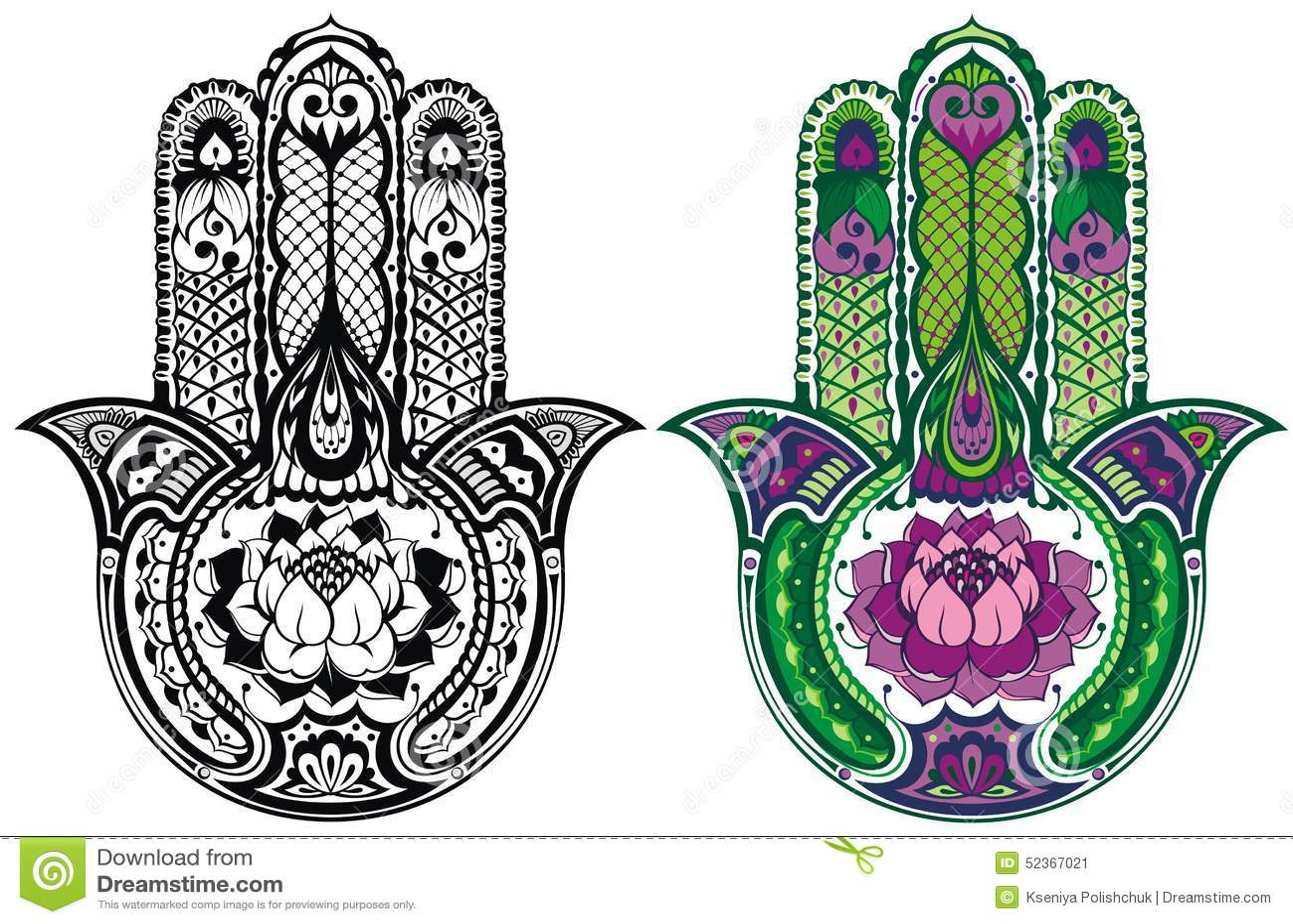 Hamsa Stock Illustrations 1519 Hamsa Stock Illustrations Vectors