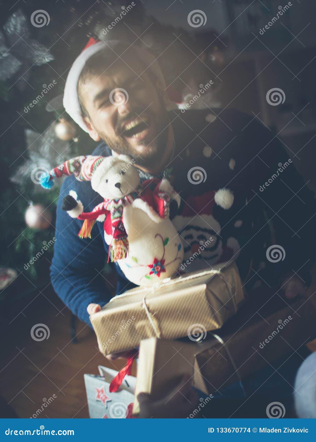 Han vet att han uppskattar jul