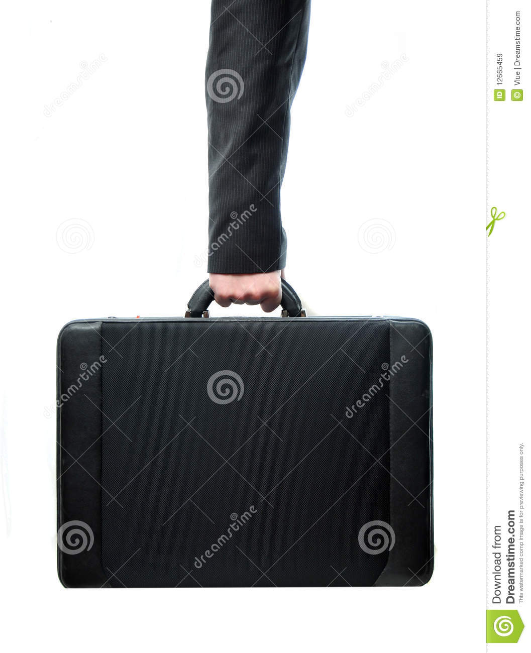 Hand And Arm Holding Suitcase Royalty Free Stock Images - Image ...