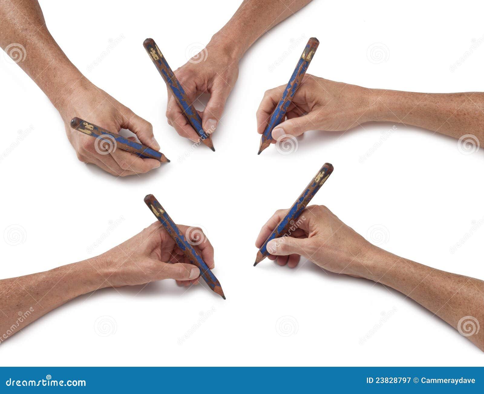 Hand Art Drawing Pencil