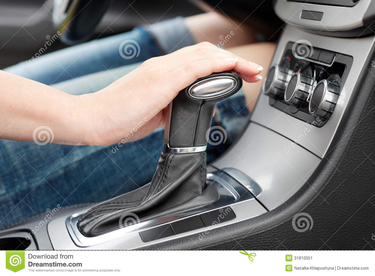 horny women riding gearshift in car