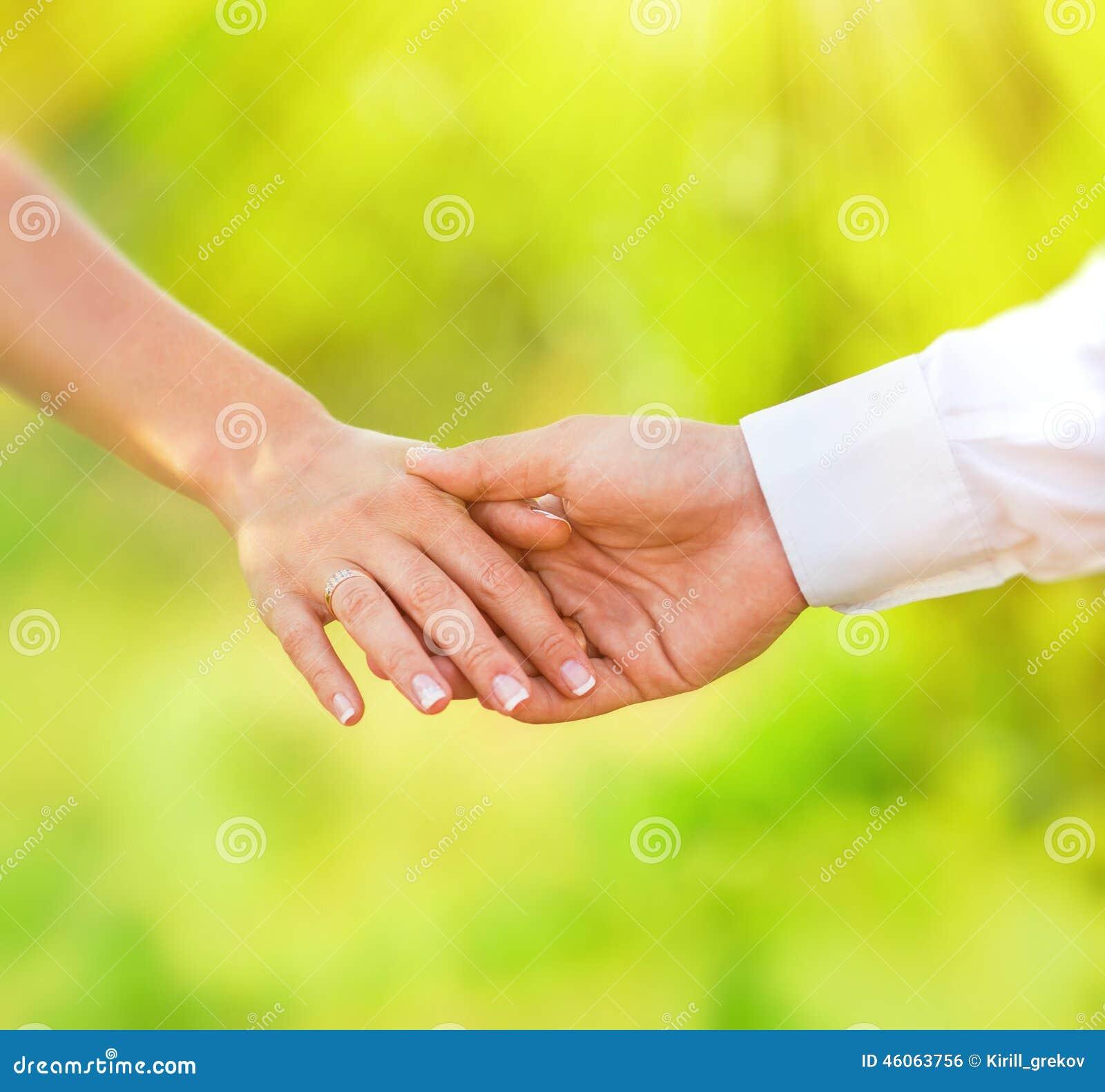 Hand av gift folk