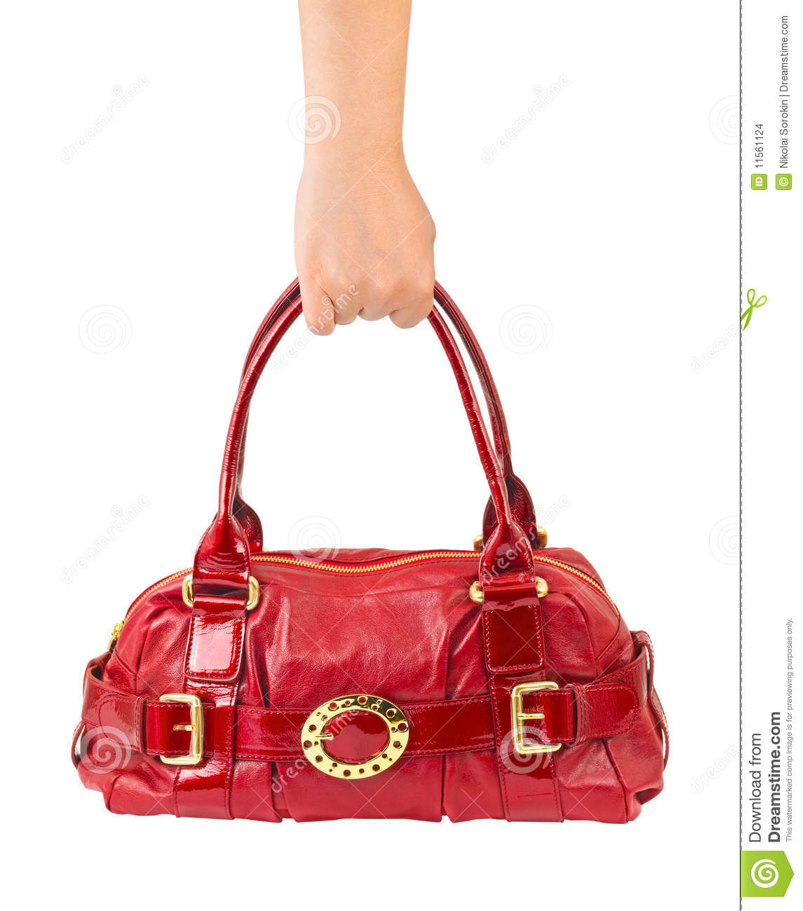Hand With Bag Stock Images - Image: 11561124