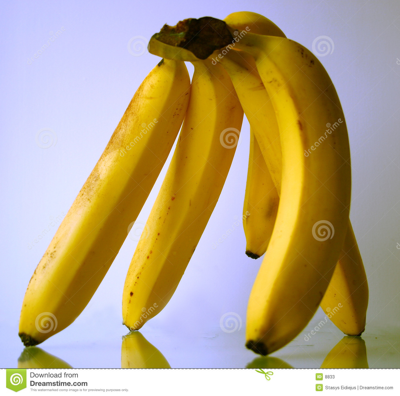 Hand of bananas