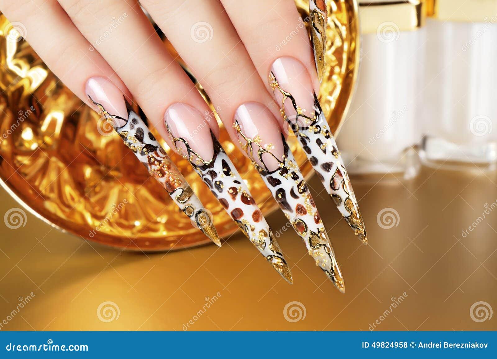 Фото конкурсных работ ногти