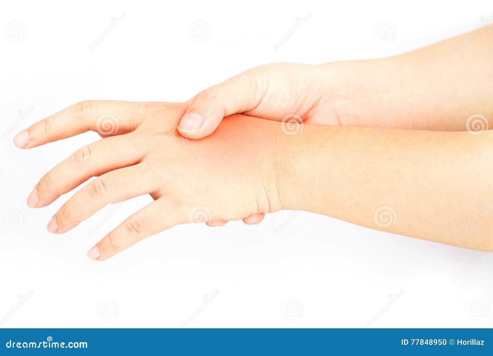 Hand bones injury