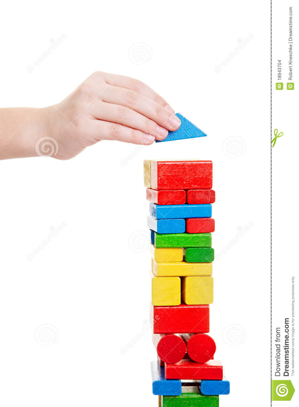 Hand building tower
