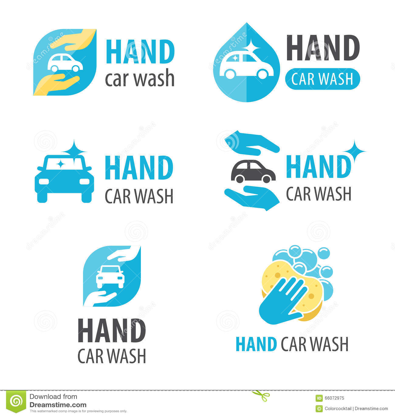 Hand car wash logo stock vector. Illustration of design ...  Hand car wash l...
