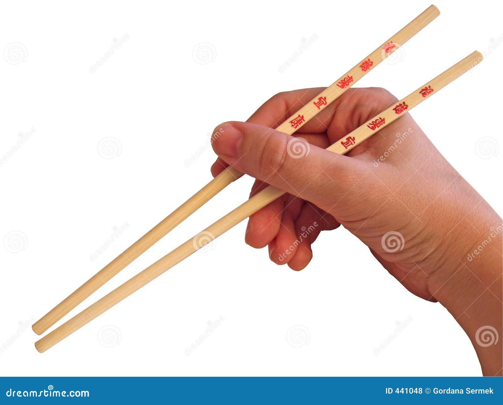 Hand And Chopsticks Royalty Free Stock Photos Image 441048