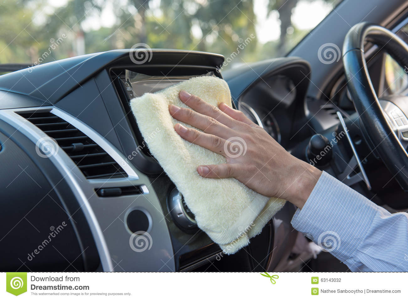 hand cleaning car with microfiber cloth stock photo image 63143032. Black Bedroom Furniture Sets. Home Design Ideas