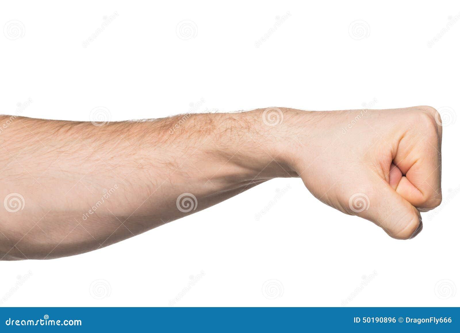 closed fist musculature image cut