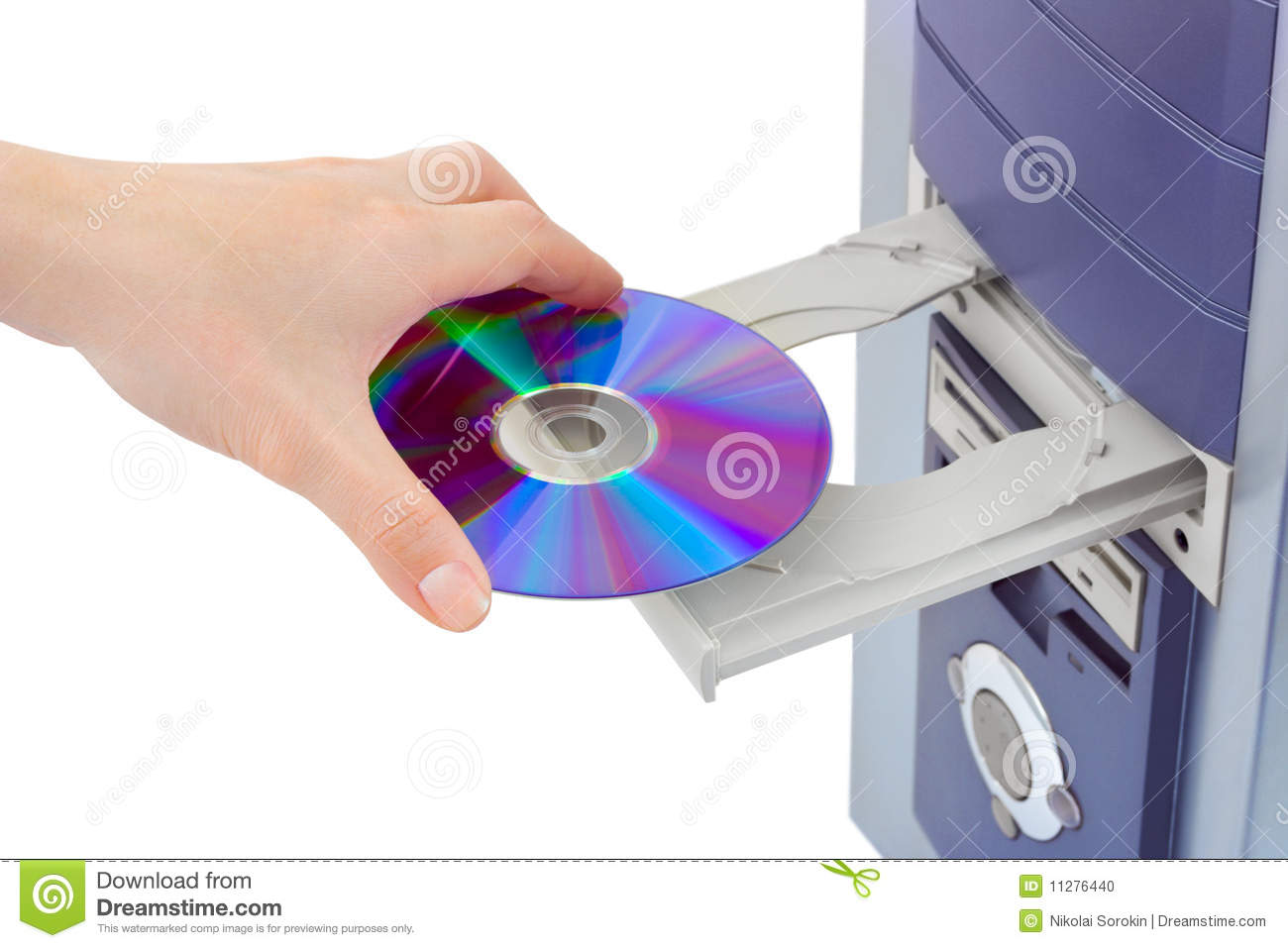 How to View Pictures on a Computer From a CD