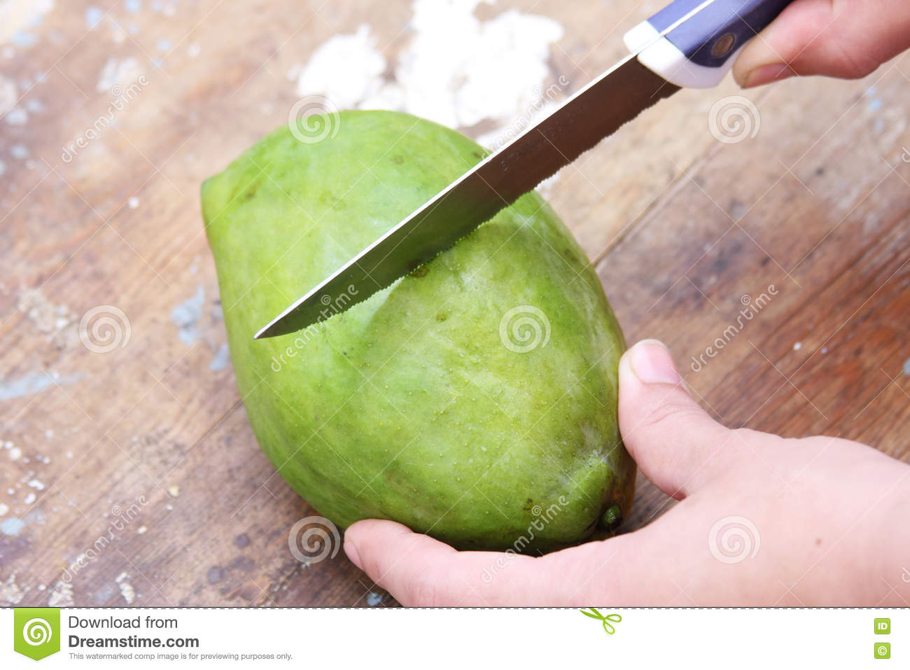 how to cut a mango with a knife youtube