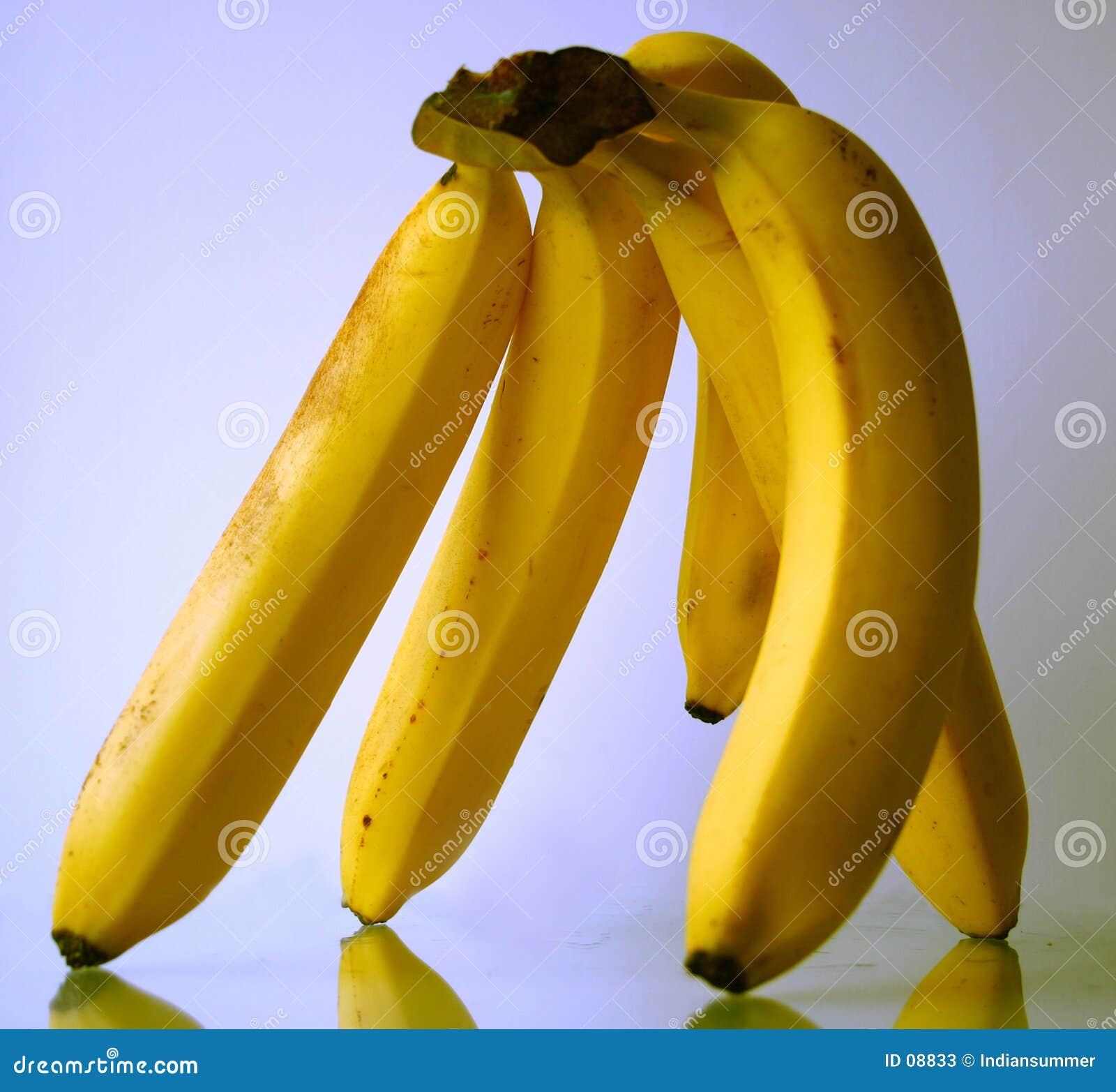 Hand der Bananen