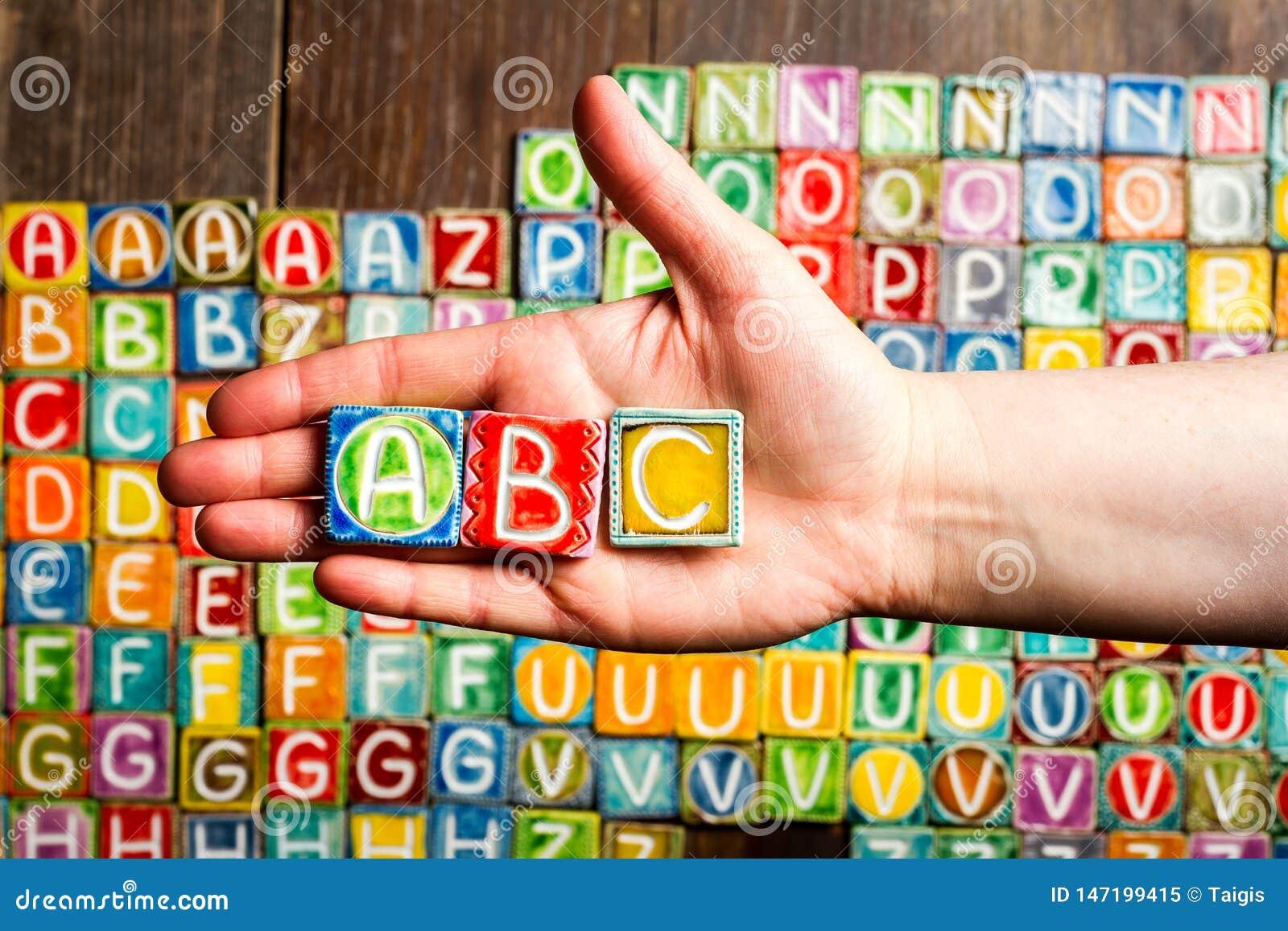 Lateinisch Hand 5 Buchstaben