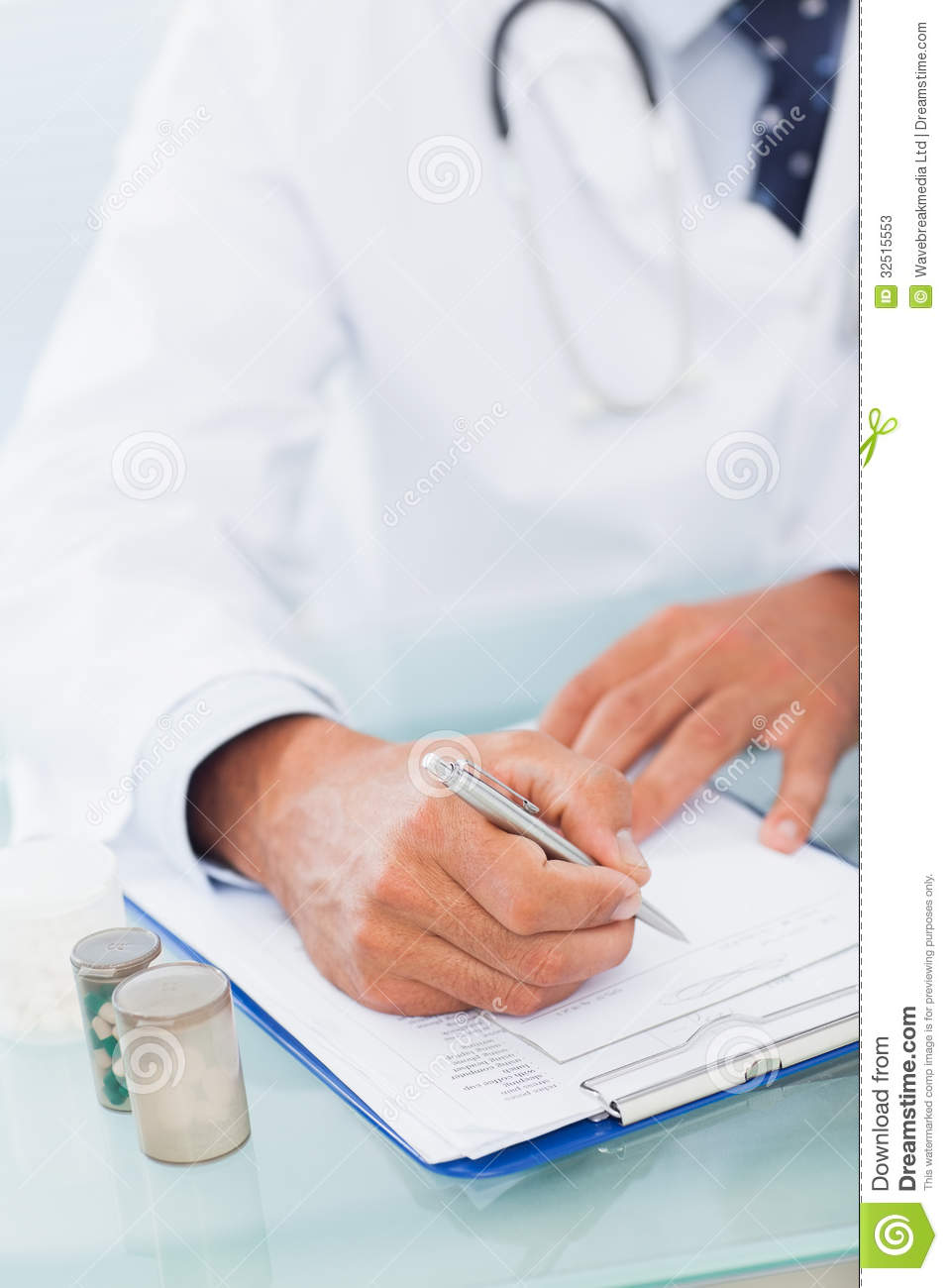 writing a medical prescription in spanish