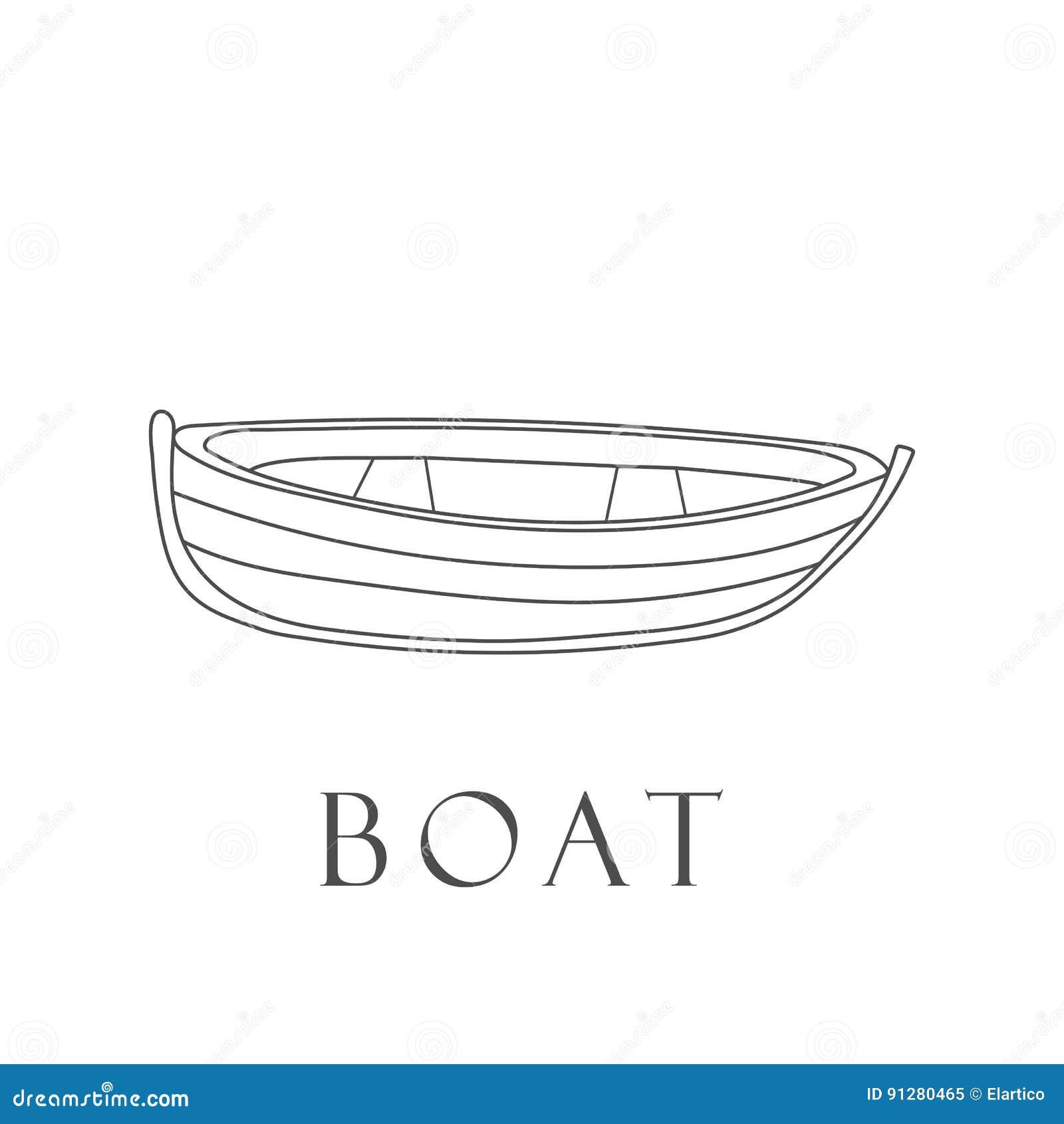 Hand dragit fartyg