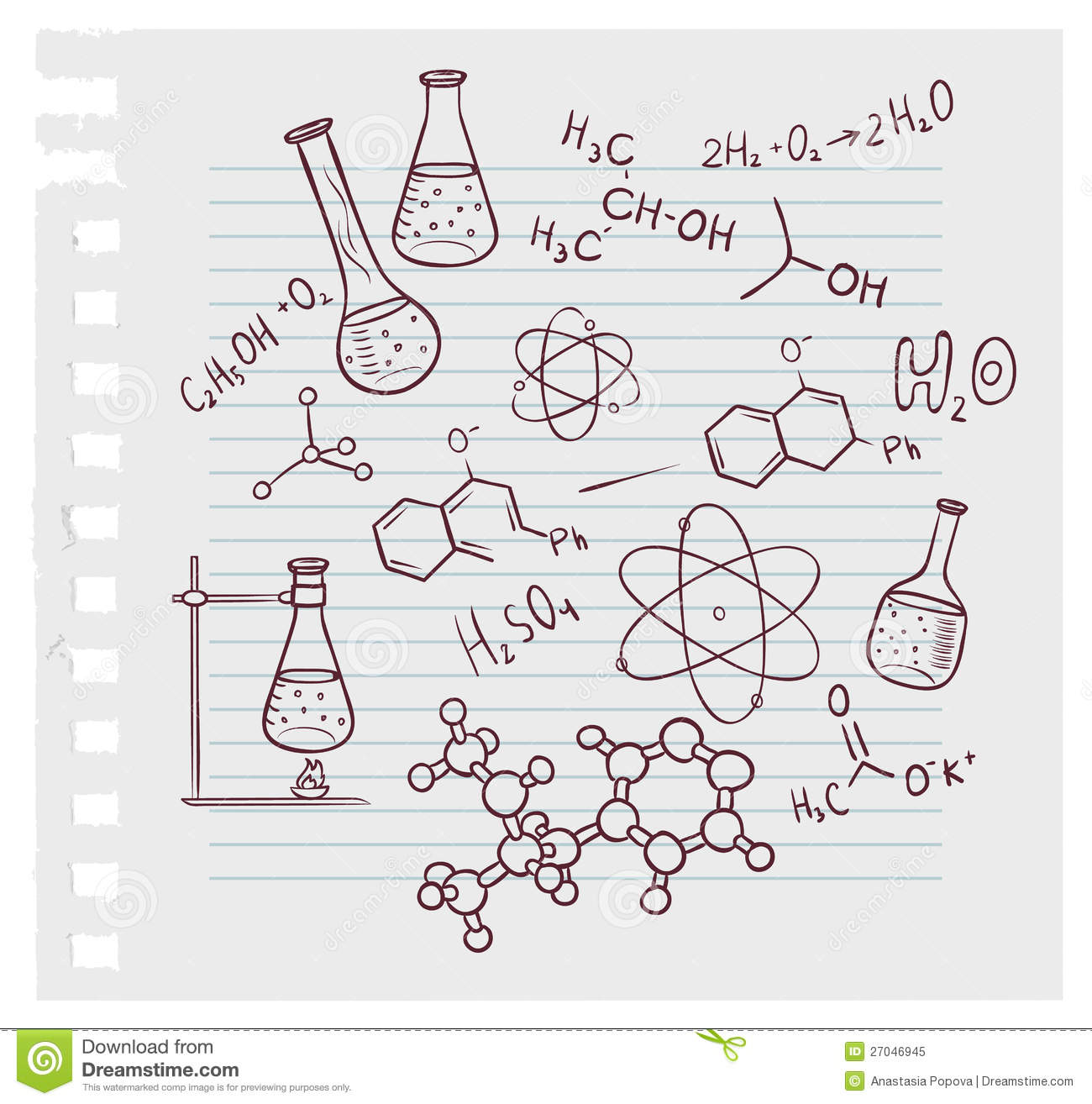 Chemistry Drawing