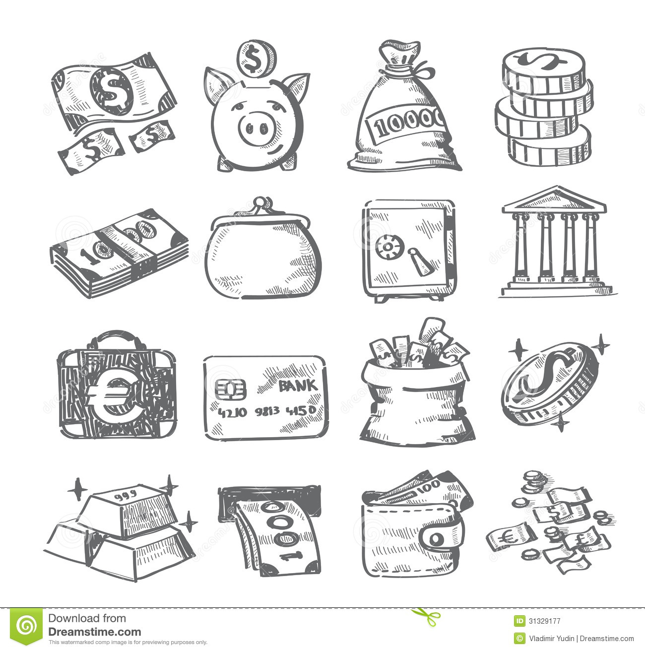 Picture Of A Bag Of Money further Big Bag in addition Small Umbrella Coloring Page 1d5771 additionally Throw away trash clip art likewise Royalty Free Stock Photography Hand Draw Money Vector Icon Set White Image31329177. on money bag cartoon