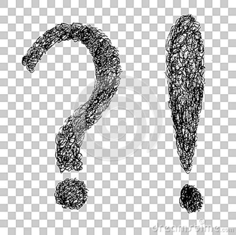 Scribble Drawing Question : Question sketch royalty free stock image cartoondealer